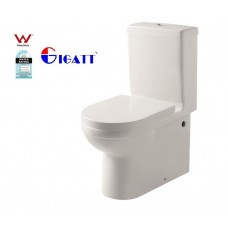 POPULAR CERAMIC BACK TO WALL TOILET SUITE WITH UF SOFT CLOSE  SEAT