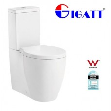 MODERN DESIGN, CERAMIC BACK TO WALL TOILET SUITE WITH UF SOFT CLOSE  SEAT